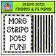 Striped Frames and P4 Paper {P4 Clips Trioriginals Digital