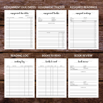 {50% OFF} Student Planner 2017-2018