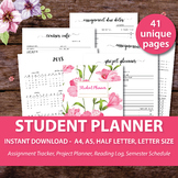 Student Planner 2019-2020 distance learning schedule