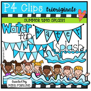 Summer Time Splash (P4 Clips Trioriginals Clip Art)