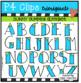 Sunny Summer Alphabet (P4 Clips Trioriginals Clip Art)