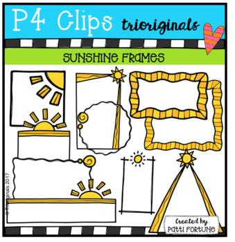 Sunshine Frames (P4 Clips Trioriginals Clip Art)