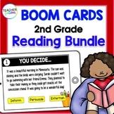 BOOM CARDS ELA | READING BUNDLE | 2nd & 3rd Grade