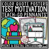Digital State Testing Encouragement Motivation Quote Posters Bulletin Board