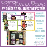 Second Grade SOL Objective Posters