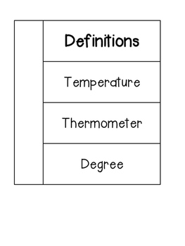 Temperature Interactive Notebook