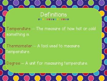 Temperature PowerPoint