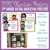Third Grade SOL Objective Posters