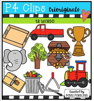 TR Words (P4 Clips Trioriginals Digital Clip Art)