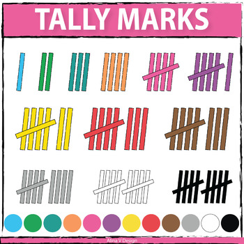 Tally Marks Clipart, Counting Clipart, Math Clipart ...