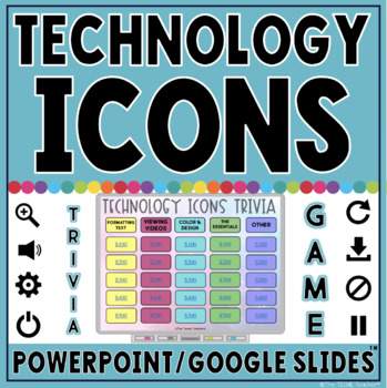 technology icons trivia game in powerpoint google slides tpt