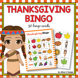 Thanksgiving Bingo Game - Thanksgiving Activities for Kind
