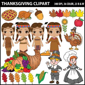 Thanksgiving Clipart, Fall Clipart, Autumn Clipart