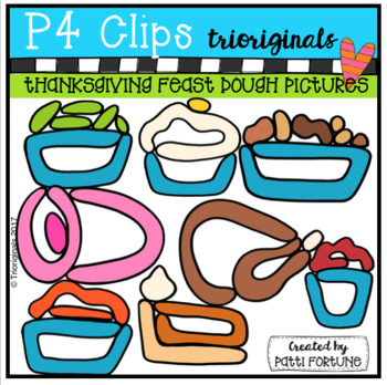 Thanksgiving Feast DOUGH PICTURES (P4 Clips)