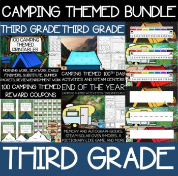 Third Grade Camping Supplies Bundle