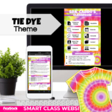 ⭐️ 50% OFF Tie Dye Parent Communication Google Template  