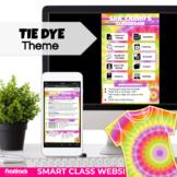 Tie Dye Parent Communication Google Slides Template | Smar