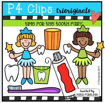 Time For the Tooth Fairy (P4 Clips Trioriginals Clip Art)
