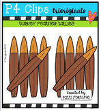 Turkey Feather Tallies (P4 Clips Trioriginals Digital Clip Art)