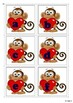 Letter Matching Uppercase and Lowercase - Monkeys