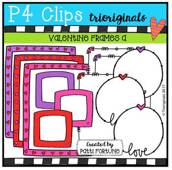 Valentine Frames (P4 Clips Trioriginals Clip Art)