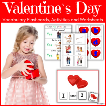 Valentine`s Day BUNDLE for Autism and Special Education