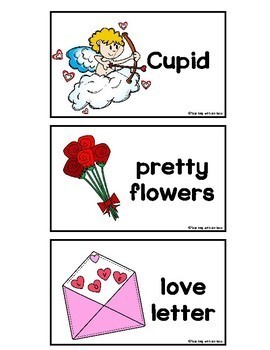 Valentine's Day Emergent Reader: Cupid, Cupid, What Do You See? + Pocket Cards
