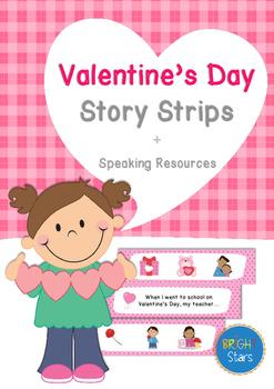 Valentine's Story Strips & Speaking Resources