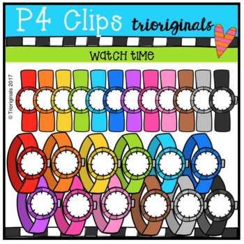 Watch Time (P4 Clips Trioriginals Clip Art)