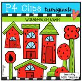 Watermelon Town (P4 Clips Trioriginals Clip Art)