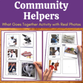 Community Helpers Activity for Special Education