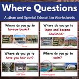 Where Questions for Speech Therapy