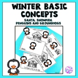 Winter Basic Concept Mini Books (Christmas, Winter and Gro