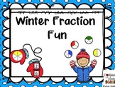 Winter Fractions: Fraction Words, Sorting Equal and Unequal Parts