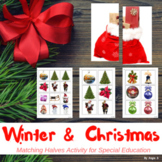 Winter and Christmas Activity for Autism