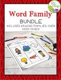 Word Families Activities {Bundle}