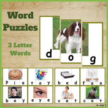3 Letter Word Building Teaching Resources