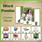Word Puzzles - 3 Letter Words
