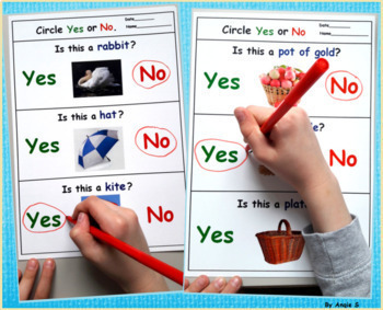 Yes No Questions Bundle for Speech Therapy and Special Education