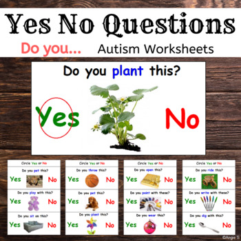 Yes No Questions (Do You...) for Autism