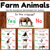 Farm Animals Activity for Speech Therapy