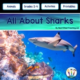 All About Sharks Craft Project and Activity Pack