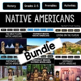 Native Americans Activities for 7 Regions: Great Plains, Southwest, Northeast