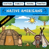 Native Americans PowerPoint for 7 Different Regions of United States