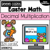 Easter Math Decimal Multiplication | BOOM cards
