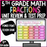 End of Year Test Prep | Fractions 5th Grade