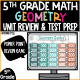 End of Year Test Prep | Geometry 5th Grade