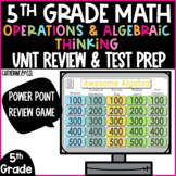Operations and Algebraic Thinking | 5th Grade Test Prep Game