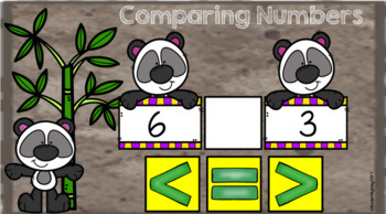Google Classroom Comparing Numbers 1-10