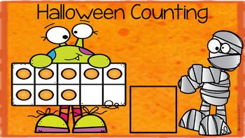 Google Classroom Halloween Math
